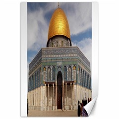 The Dome Of The Rock  Canvas 24  X 36  (unframed)