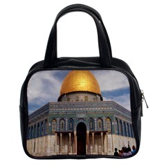 The Dome Of The Rock  Classic Handbag (two Sides)