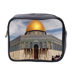 The Dome Of The Rock  Mini Travel Toiletry Bag (two Sides)