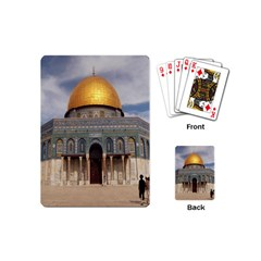 The Dome Of The Rock  Playing Cards (Mini)