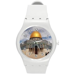 The Dome Of The Rock  Plastic Sport Watch (Medium)