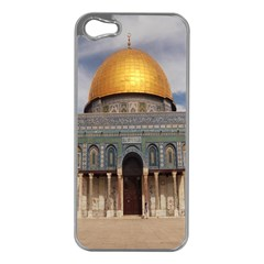 The Dome Of The Rock  Apple Iphone 5 Case (silver)
