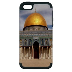 The Dome Of The Rock  Apple Iphone 5 Hardshell Case (pc+silicone)