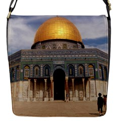 The Dome Of The Rock  Flap Closure Messenger Bag (Small)