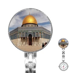 The Dome Of The Rock  Stainless Steel Nurses Watch