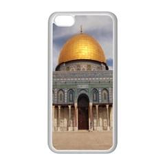 The Dome Of The Rock  Apple iPhone 5C Seamless Case (White)