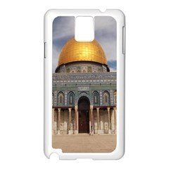 The Dome Of The Rock  Samsung Galaxy Note 3 N9005 Case (White)