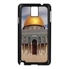 The Dome Of The Rock  Samsung Galaxy Note 3 N9005 Case (Black)