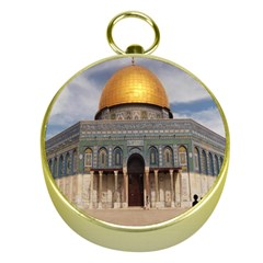The Dome Of The Rock  Gold Compass