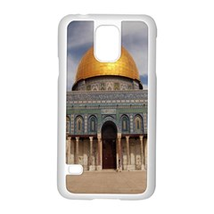 The Dome Of The Rock  Samsung Galaxy S5 Case (white)