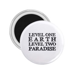 Level One Earth 2 25  Button Magnet