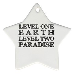 Level One Earth Star Ornament