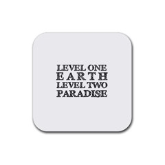 Level One Earth Drink Coasters 4 Pack (square)