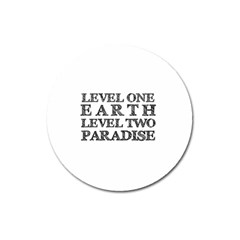 Level One Earth Magnet 3  (round)