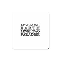 Level One Earth Magnet (Square)