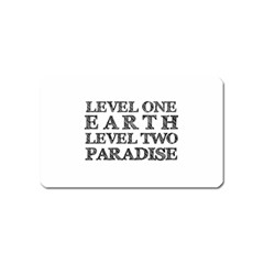 Level One Earth Magnet (Name Card)