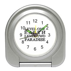 Level One Earth Desk Alarm Clock