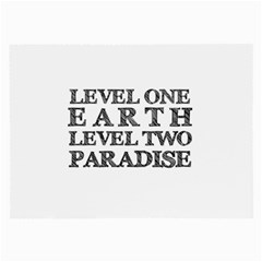 Level One Earth Glasses Cloth (Large, Two Sided)