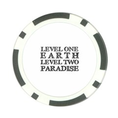 Level One Earth Poker Chip (10 Pack)