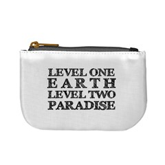 Level One Earth Coin Change Purse