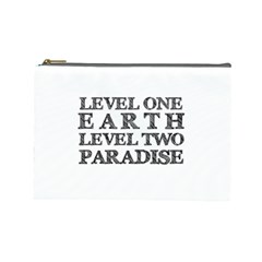 Level One Earth Cosmetic Bag (large)
