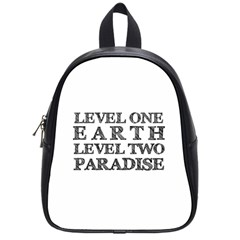 Level One Earth School Bag (small)