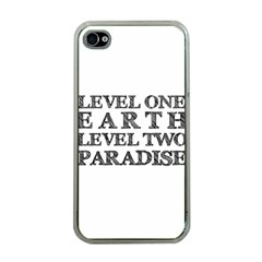 Level One Earth Apple Iphone 4 Case (clear)