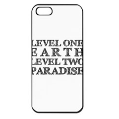 Level One Earth Apple Iphone 5 Seamless Case (black)