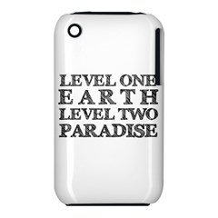 Level One Earth Apple iPhone 3G/3GS Hardshell Case (PC+Silicone)