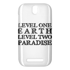 Level One Earth HTC One SV Hardshell Case