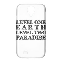 Level One Earth Samsung Galaxy S4 Classic Hardshell Case (pc+silicone)