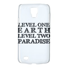 Level One Earth Samsung Galaxy S4 Active (i9295) Hardshell Case
