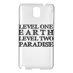 Level One Earth Samsung Galaxy Note 3 N9005 Hardshell Case