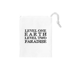Level One Earth Drawstring Pouch (small)