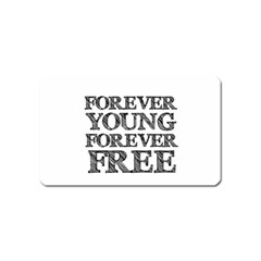 Forever Young Magnet (Name Card)