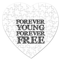 Forever Young Jigsaw Puzzle (Heart)