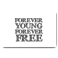 Forever Young Large Door Mat