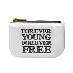 Forever Young Coin Change Purse