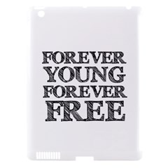 Forever Young Apple Ipad 3/4 Hardshell Case (compatible With Smart Cover)