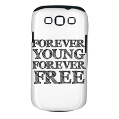 Forever Young Samsung Galaxy S III Classic Hardshell Case (PC+Silicone)