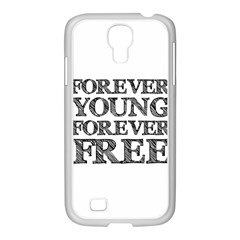 Forever Young Samsung Galaxy S4 I9500/ I9505 Case (white)