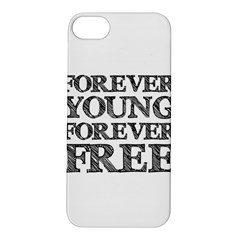 Forever Young Apple Iphone 5s Hardshell Case