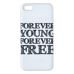 Forever Young iPhone 5S Premium Hardshell Case