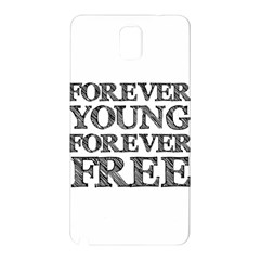 Forever Young Samsung Galaxy Note 3 N9005 Hardshell Back Case