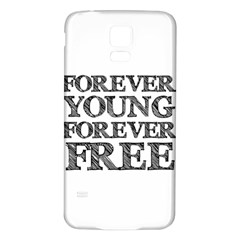 Forever Young Samsung Galaxy S5 Back Case (white)