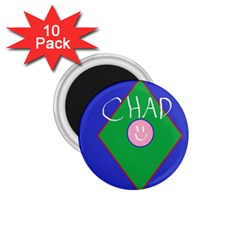 Chadart 1.75  Button Magnet (10 pack)