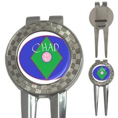 Chadart Golf Pitchfork & Ball Marker