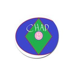Chadart Magnet 3  (round)