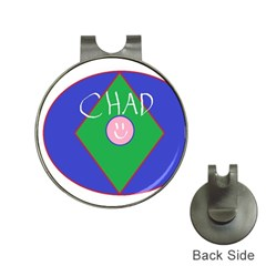Chadart Hat Clip with Golf Ball Marker