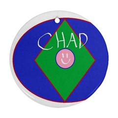 Chadart Round Ornament (two Sides)